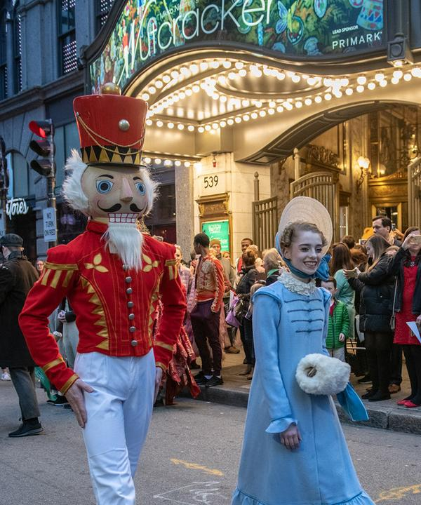 the nutcracker parade
