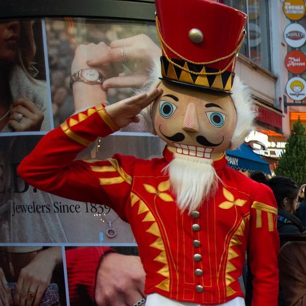 the nutcracker parade