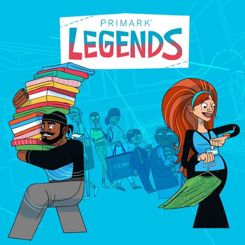 Primark legends image snippet