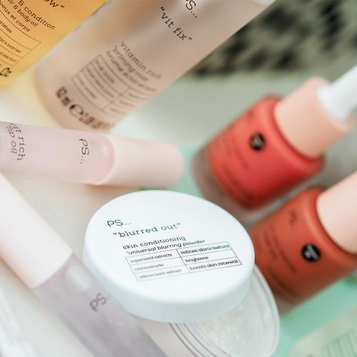 PS  Active skincare range