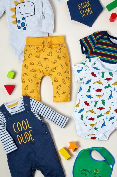 Safari Friends kleding voor pasgeborenen