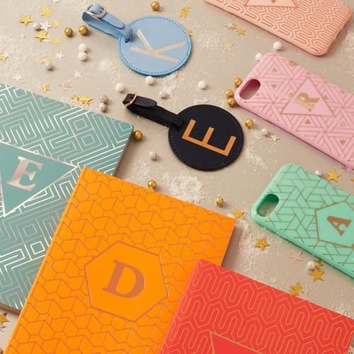 Primarks personalised initial notebook and accessories