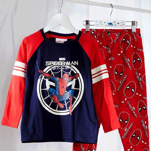 spiderman kids pyjamas