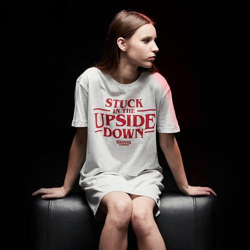 the upside down night tshirt