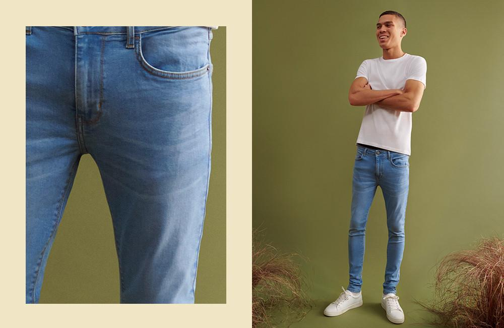 Le jean super skinny