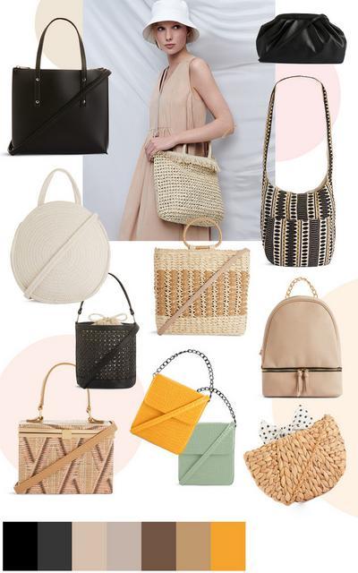 Handbag collage