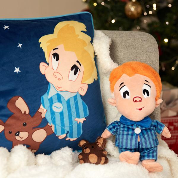 Primark's Zack teddy and cushion