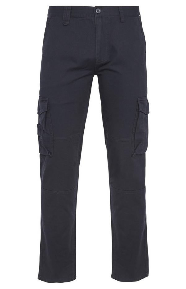 Navy Worker Cargo Trousers