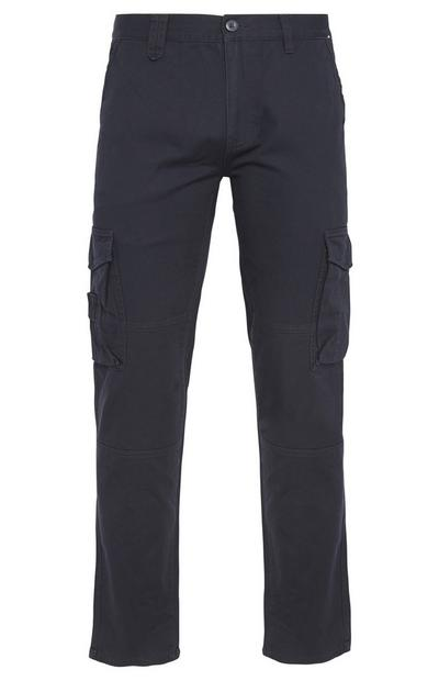 Marineblaue Worker-Cargohose