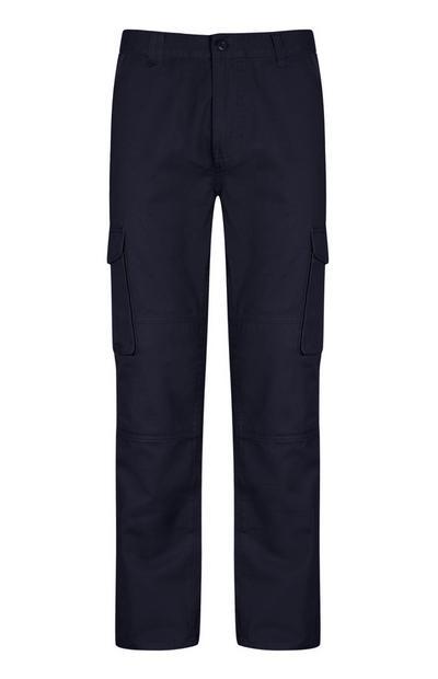 Calças azul-marinho