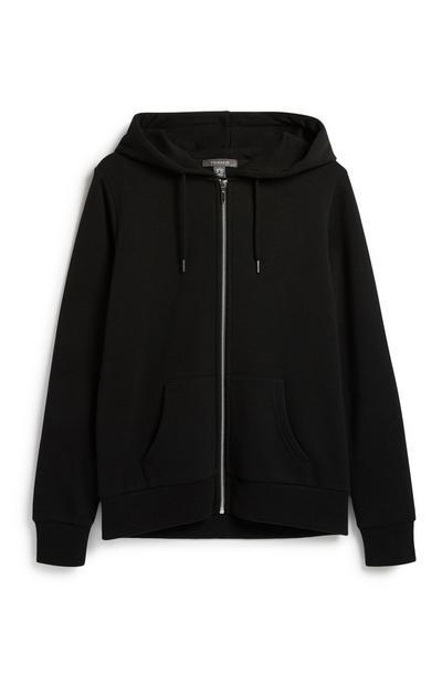 Black Zip Hoody