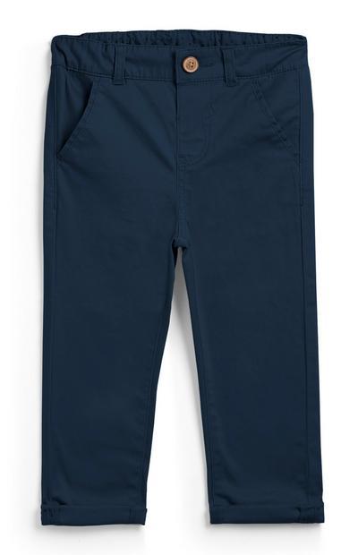 Pantalón chino azul marino para bebé niño