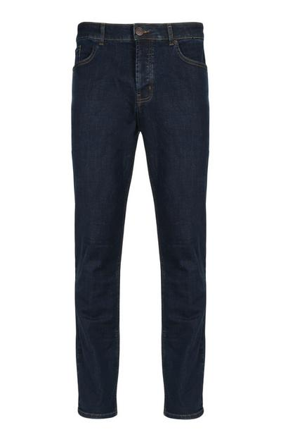 Jeans met stretch, rinse-washed