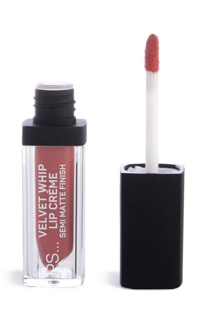 Fluweelzachte lipcrème