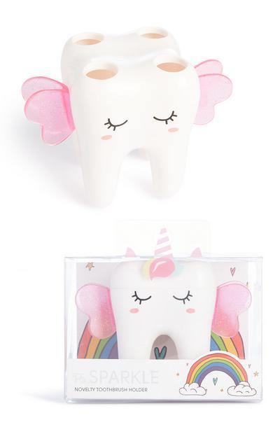 Étui à brosse à dents licorne