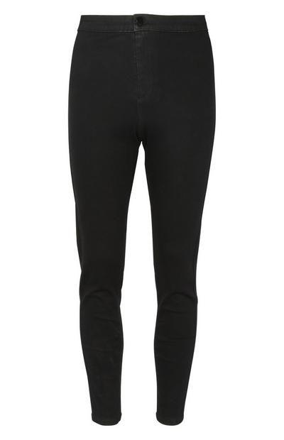 Calças ganga skinny preto