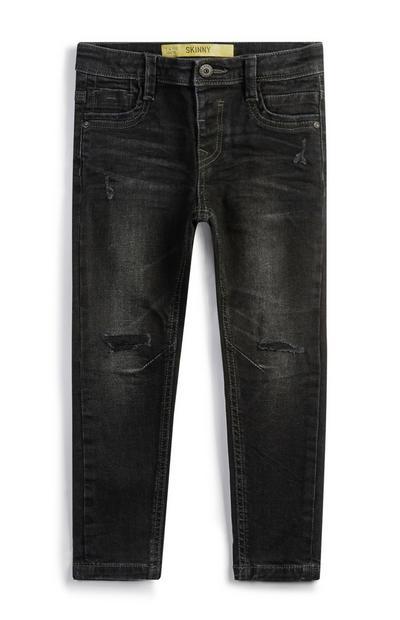 Jeans grigio scuro da bambino