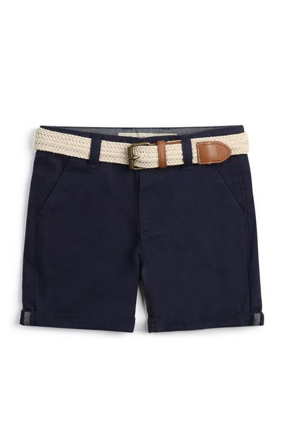 Pantalón corto chino de niño pequeño