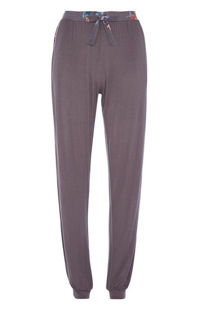 Dark Grey Pyjama Legging