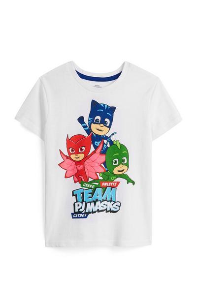 T-Shirt PJ Masks menino
