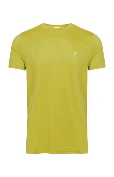 Camiseta de deporte amarilla