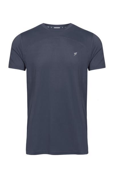 Blusa de deporte azul