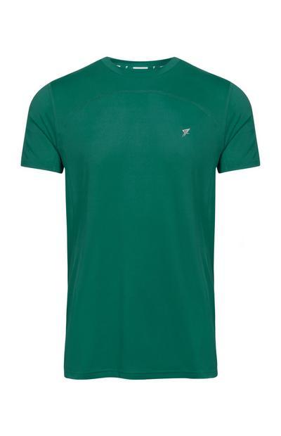 Camiseta de deporte verde