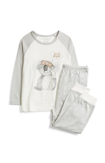 Pyjama à motif koala fille