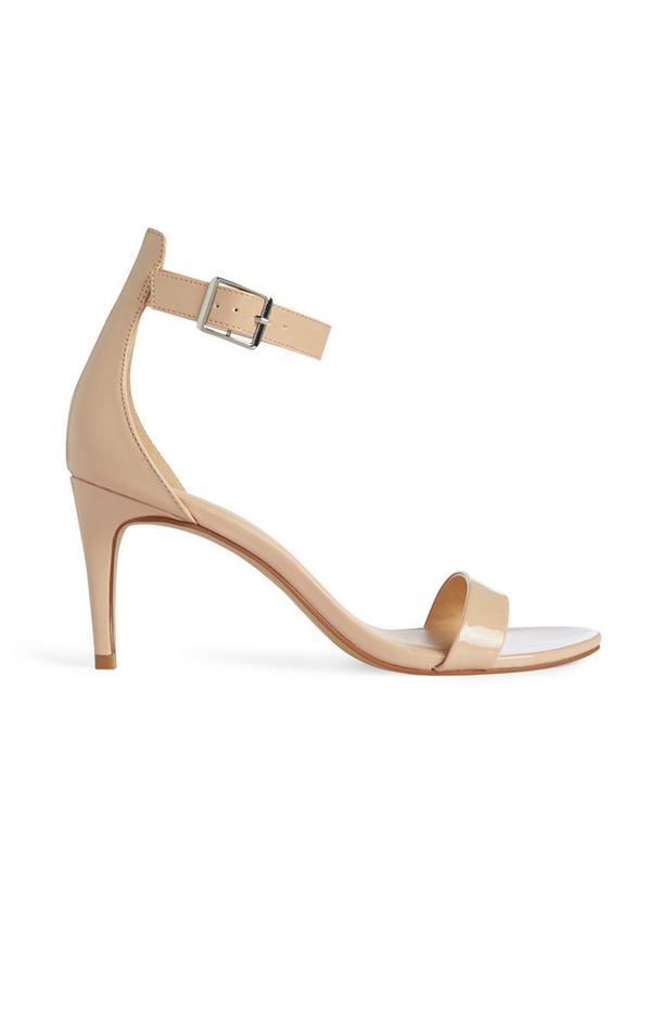 Sandales nude à brides