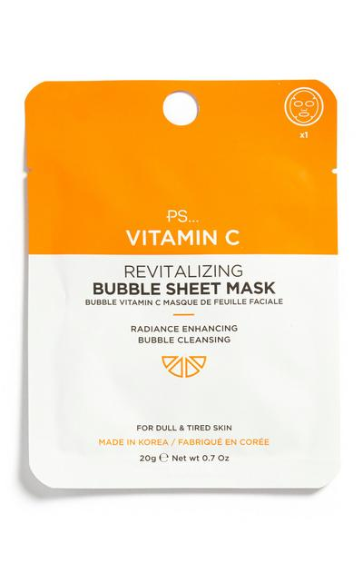 Mascarilla con vitamina C