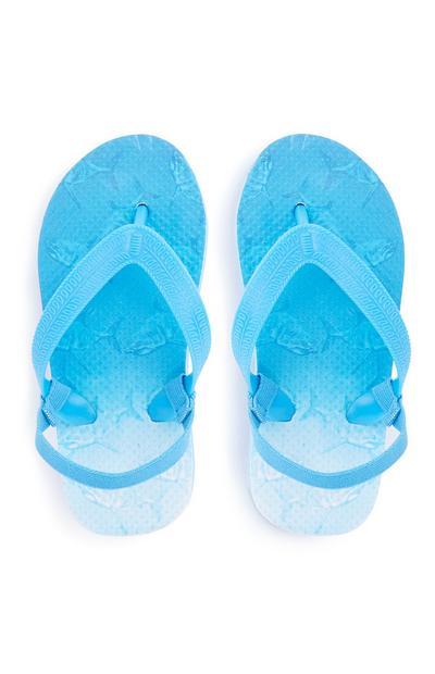 Younger Boy Blue Flip Flop