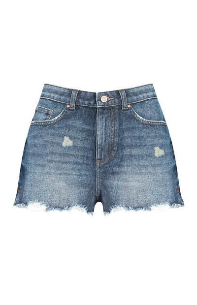 Shorts blu medio