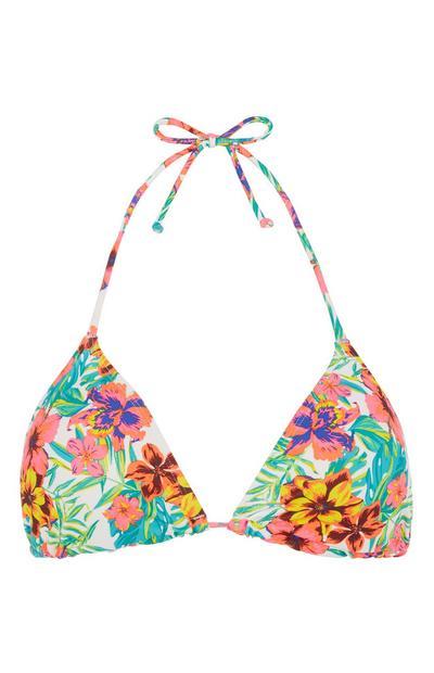 Floral Bikini Top