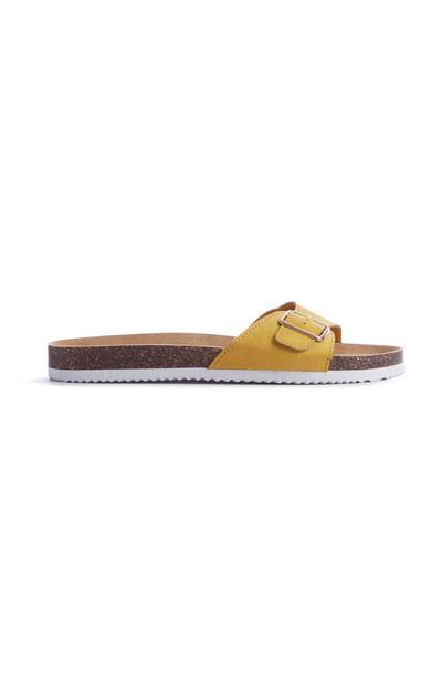 Gele sandaal