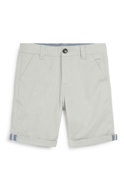 Kratke hlače chino za starejše fante