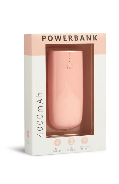 Batería portátil rosa
