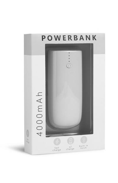 Grijze powerbank