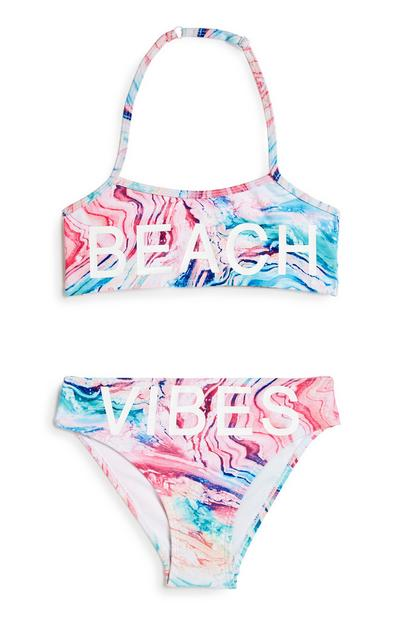 Bikini à message ado