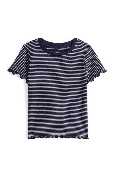 Younger Girl Striped Top