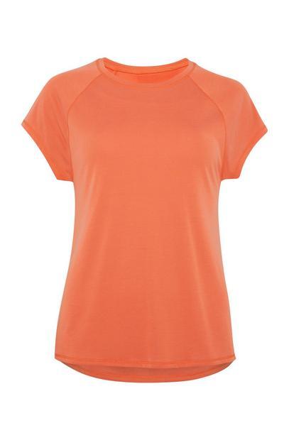Orangefarbenes T-Shirt