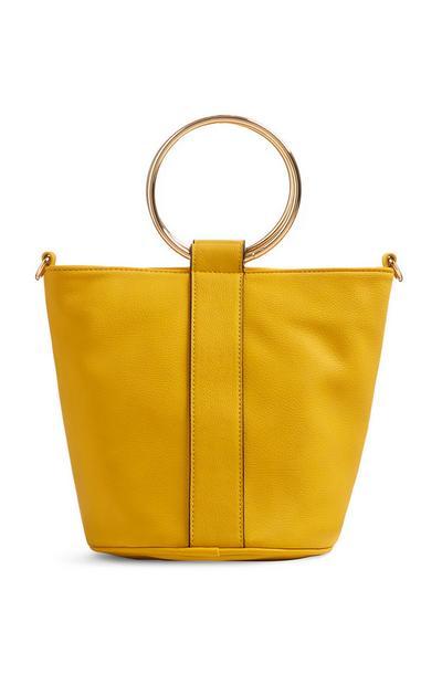 Mala saco amarelo