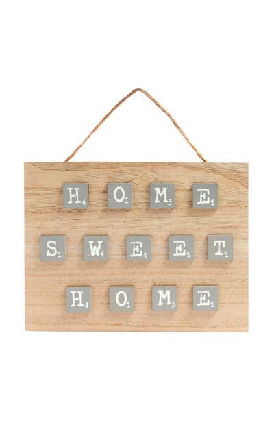 Home Sweet Home-bord