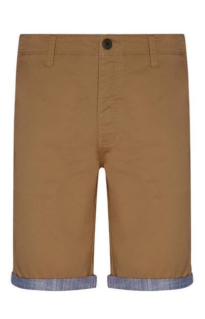 Short marron clair