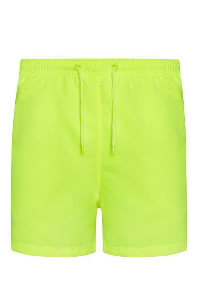 Shorts met neon accent