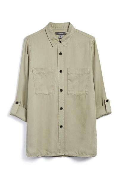 Khaki Long Shirt