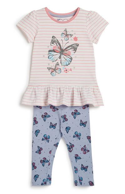 Outfit, 2-delig, babymeisje