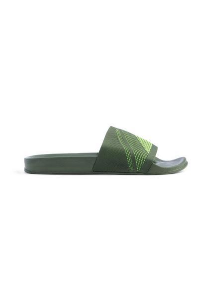 Kaki slippers