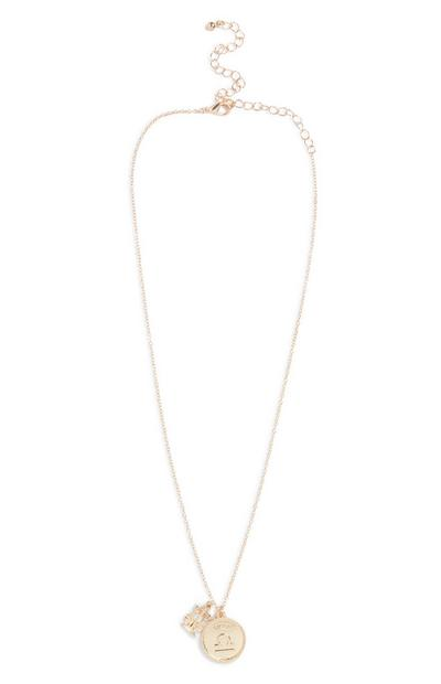 Libra Horoscope Necklace