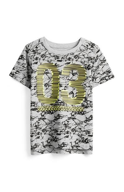 Younger Boy Printed T-Shirt