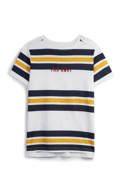 Older Boy Stripe T-Shirt